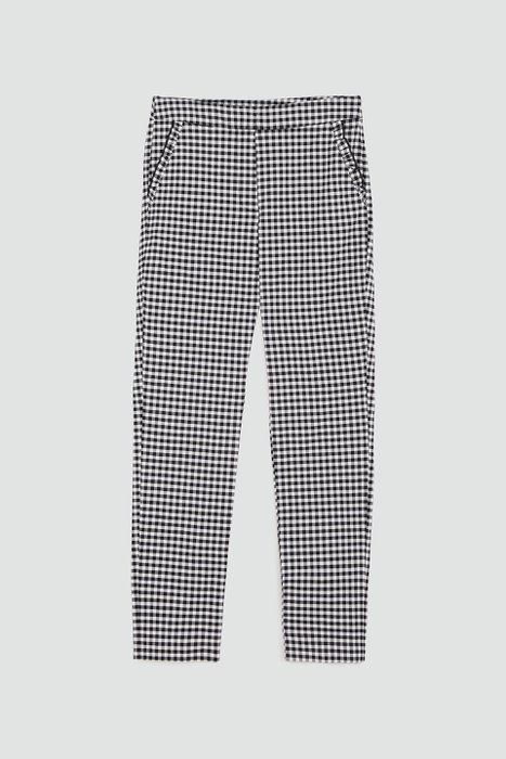 Pantaloni quadri con volant - Zara
